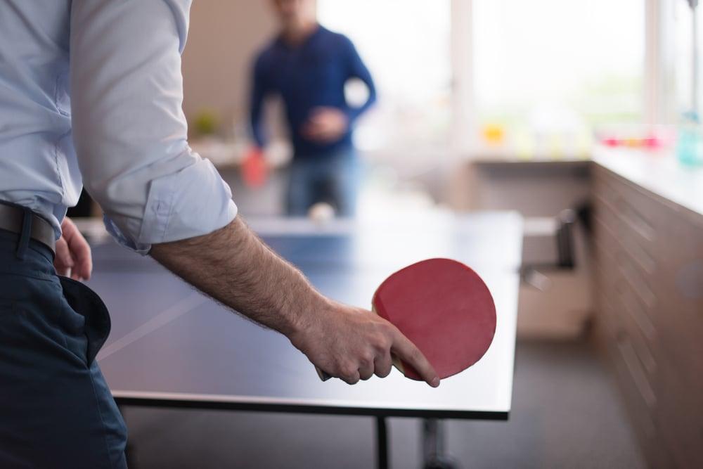 Company Culture Table Tennis